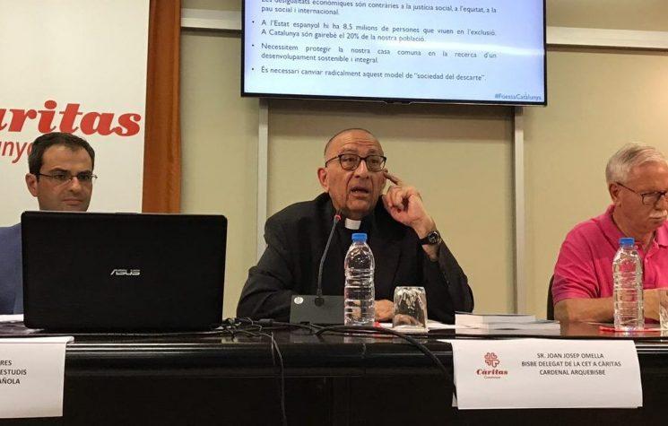 Cardenal Omella informe pobresa 2019